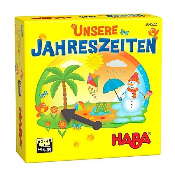 【德國HABA桌遊】我們的四季 TA304522 JAHRESZEITEN