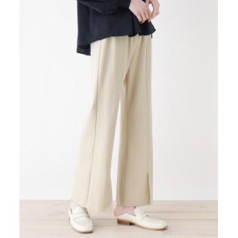 ZAMPA(ザンパ) 裾スリットフレアパンツ