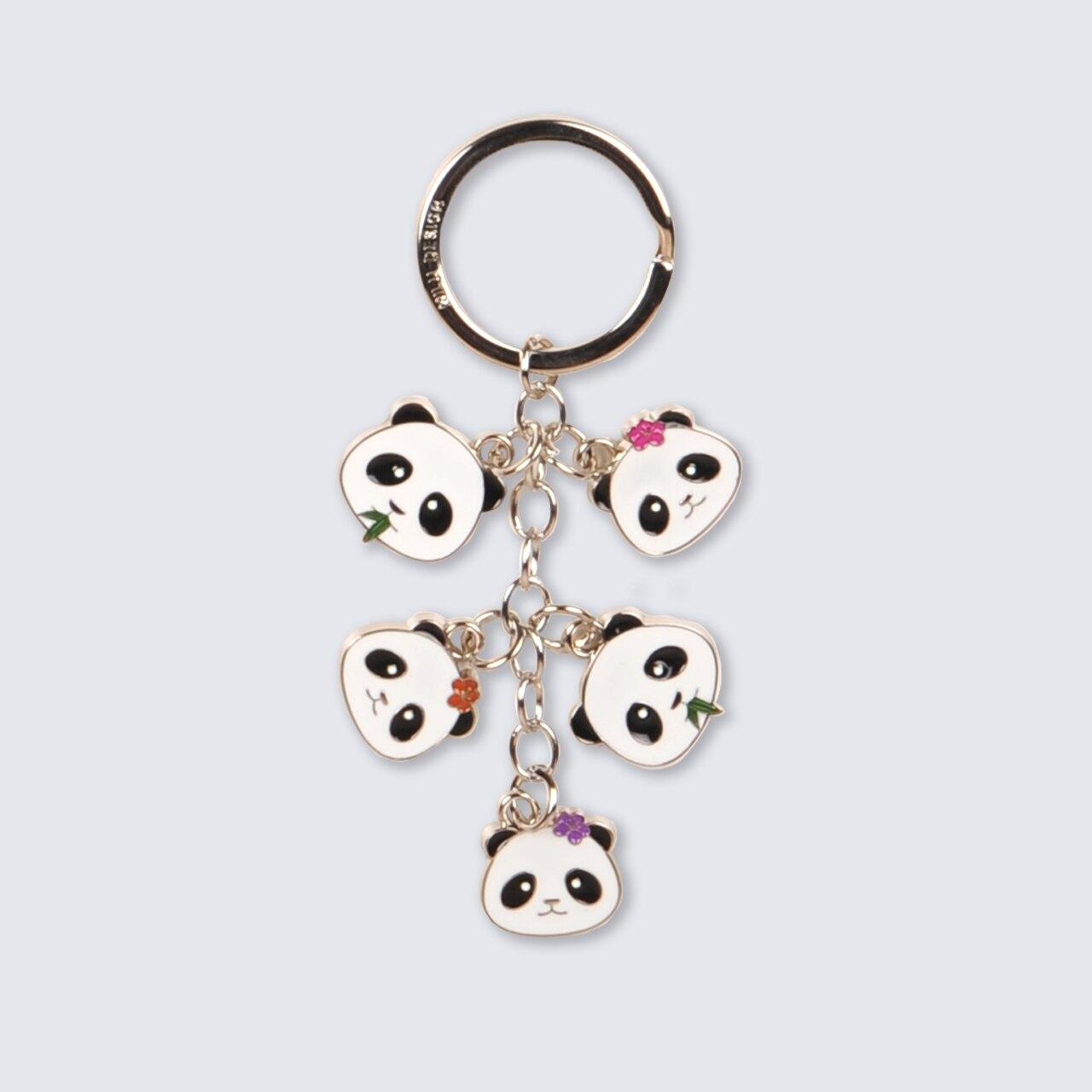 萌呆的Panda 金屬琺瑯鑰匙圈 吊飾/ 圓仔 圓寶 不要那麼可愛啦