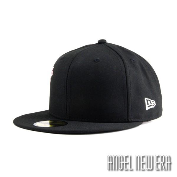 【NEW ERA】日本櫻花 棒球帽 經典黑 59FIFTY 不可調 日線 穿搭 少量【ANGEL NEW ERA】