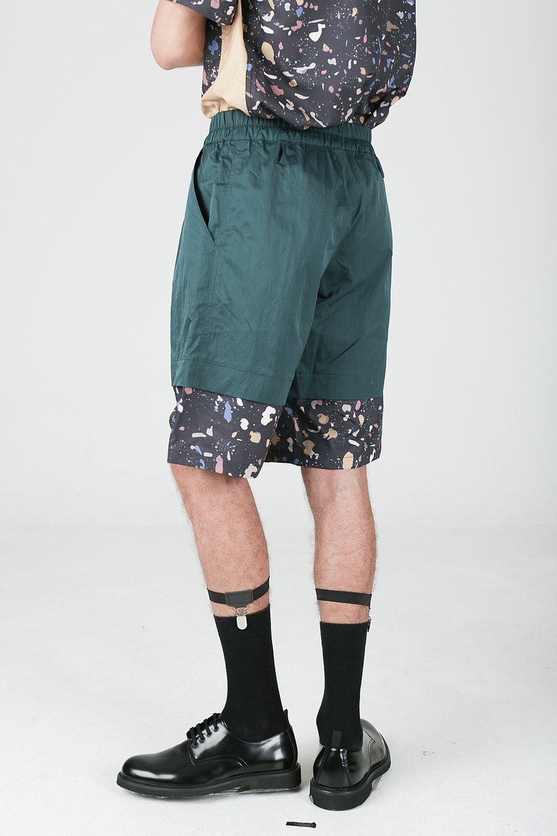 nowherelse - 印花短褲