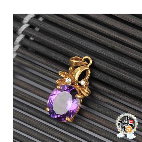 紫晶 墜飾 十方佛教文物