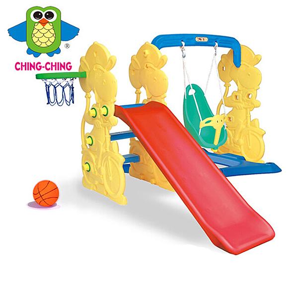 親親 長頸鹿鞦韆滑梯 SL-21【德芳保健藥妝】溜滑梯