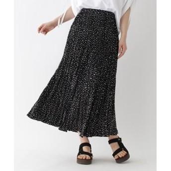 【DRESSTERIOR:スカート】プリントプリーツスカート