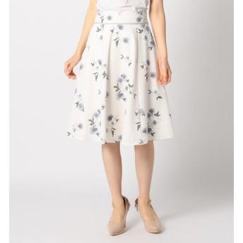 【ミッシュマッシュ/MISCH MASCH】 花柄ウエストグログランスカート