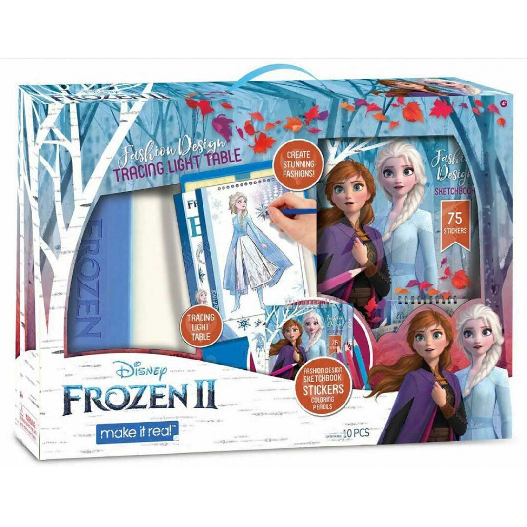 《 Disney 迪士尼 》冰雪奇緣2-描圖板 東喬精品百貨
