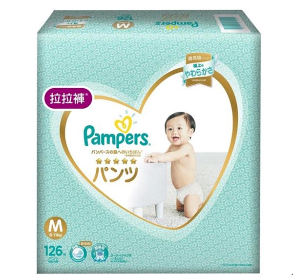 幫寶適一級幫拉拉褲 M 號 126 片 - 日本境內版