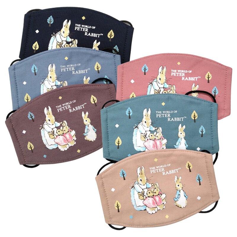 (防疫商品)彼得兔/比得兔 兒童印花口罩(平面)(顏色隨機出貨)MA55492★愛兒麗婦幼用品★