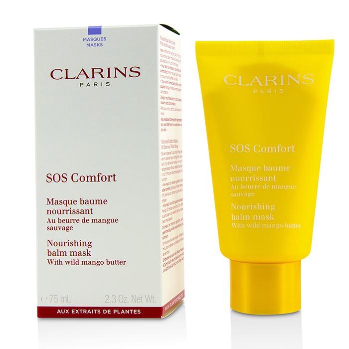 克蘭詩 - SOS 野芒果滋養面膜 - 乾性肌膚適用