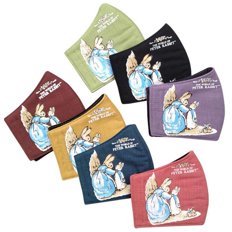 (防疫商品)彼得兔/比得兔 兒童印花口罩(立體)(顏色隨機出貨)MA55694★愛兒麗婦幼用品★