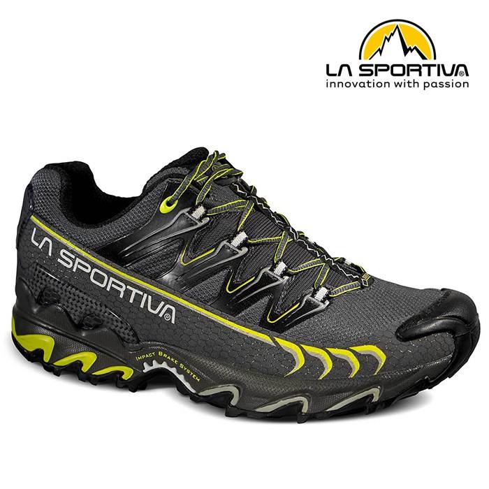 La sportiva Ultra Raptor GTX 防水透氣越野跑鞋 男款 灰綠 26RGG