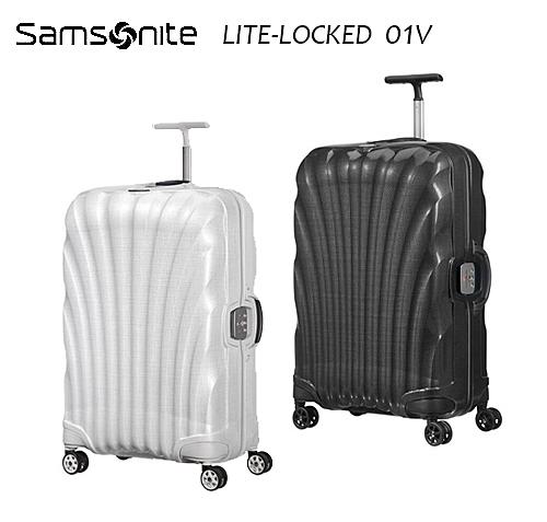 Samosnite 新秀麗 Lite-locked FL 01V 25吋行李箱 Curv® 材質 新升級版雙軌輪 置衣隔板 歡迎詢問+送好禮