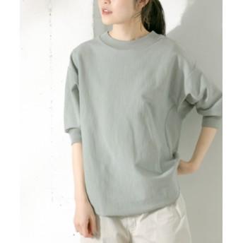 かぐれ(カグレ) トップス Tシャツ・カットソー コットンカットプルオーバー6分袖【送料無料】