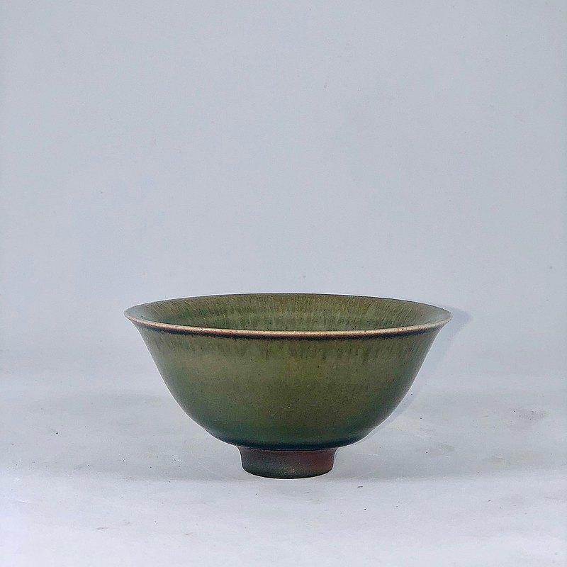 手作柴燒 龍泉青瓷小茶碗 LONG005