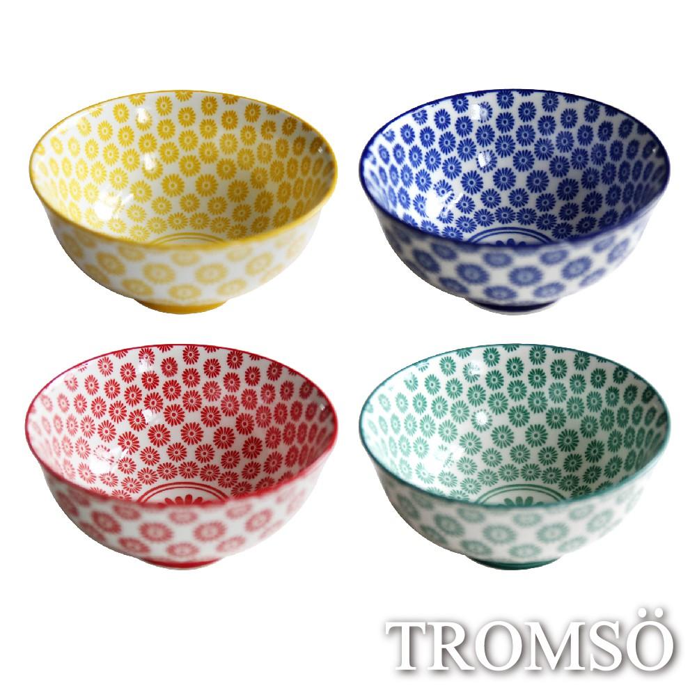 TROMSO京都日系職人陶瓷碗四入組/北歐簡約陶瓷碗盤餐具碗湯碗飯碗 現貨