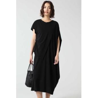 ROSE BUD/ローズ バッド アシメトリードレス ブラック -