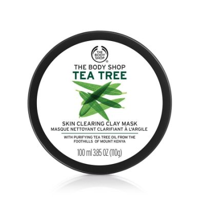 THE BODY SHOP 茶樹淨膚調理面膜100ML