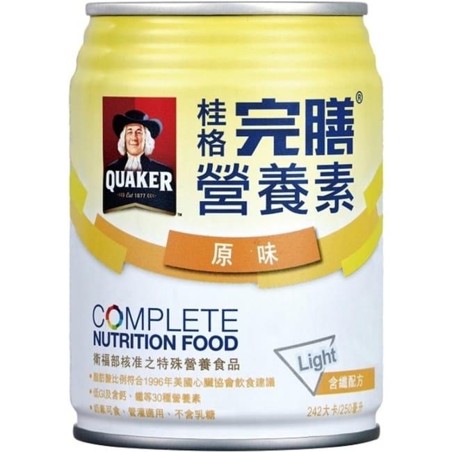 桂格完膳營養素 含纖原味配方24入