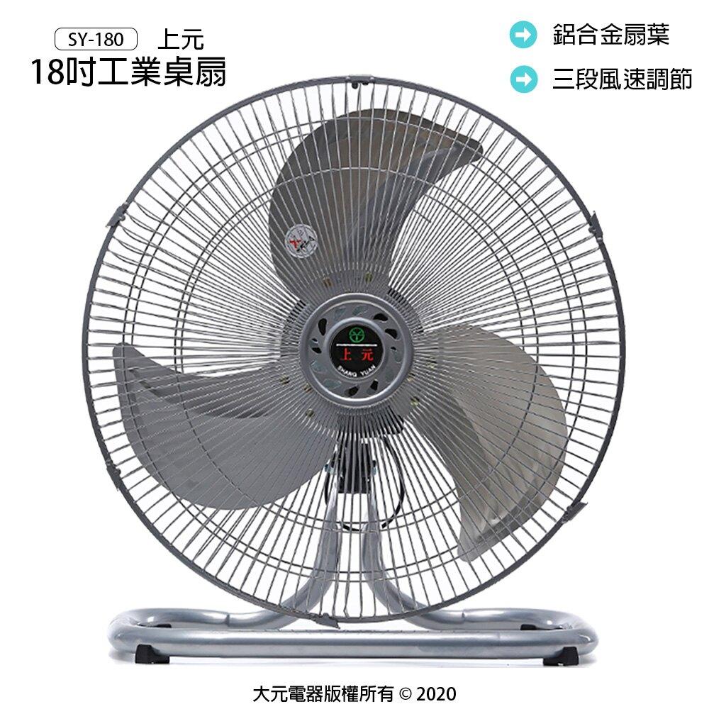 【這夏好禮】18吋工業桌扇/工業立扇/工業扇/立扇/電風扇/電扇 SY-180 (兩台)