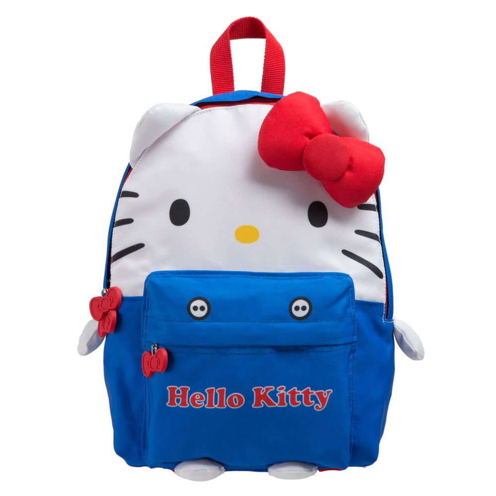 Hello Kitty KTQ版娃娃後背包 藍色 KT02B01RB