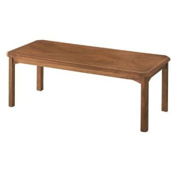 コーヒーテーブル 幅110cm 木製 オーク 木目 ローテーブル センターテーブル リビングテーブル 座卓 カントリー フレンチ 北欧 一人暮らし