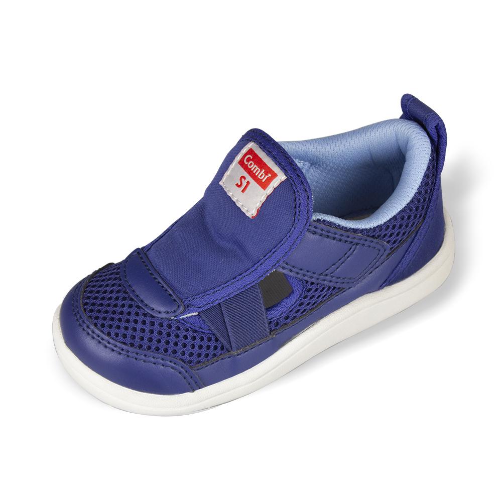 Combi 康貝 CORE-S兒童成長機能涼鞋 C01BL藍
