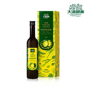 大漢酵素~鮮檸輕酵飲500ml/罐