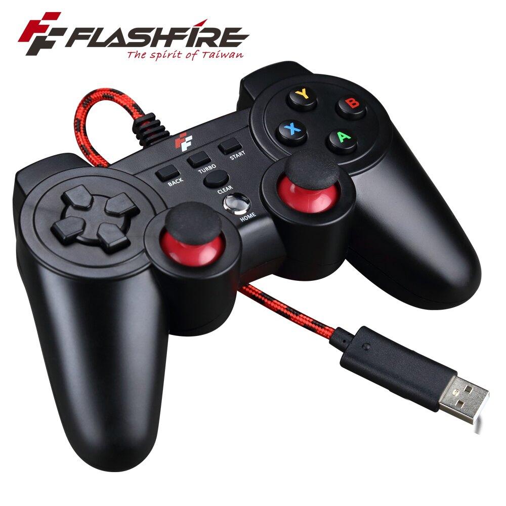迅雷火4IN1遊戲手把 手把 搖桿 控制器 把手 FlashFire Thunder PAD 4in1 SF411204V 電競手把【迪特軍】