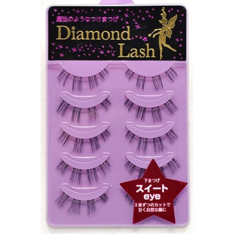 日本-Diamond lash 假睫毛『DL51154 sweet eye (下睫毛) 』 紫色款