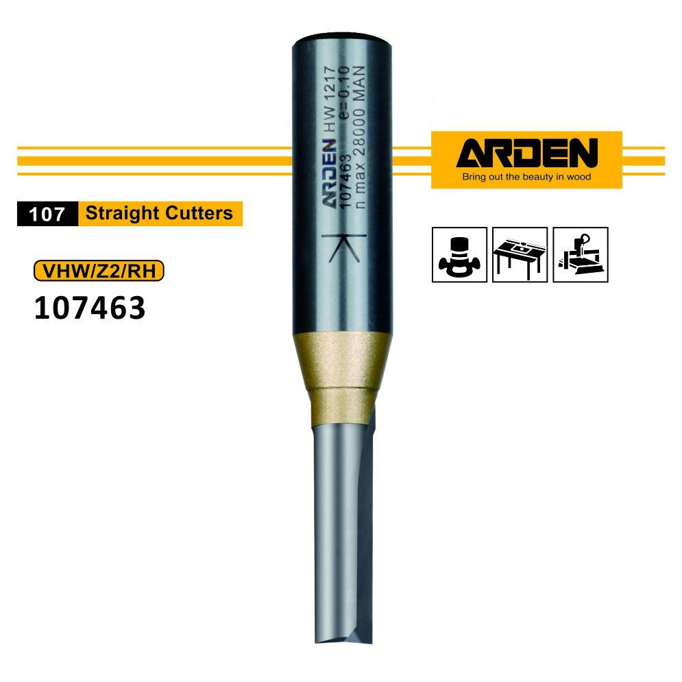 Arden 107463 栽入式全鎢鋼直刀 5/16x1x1/2英吋