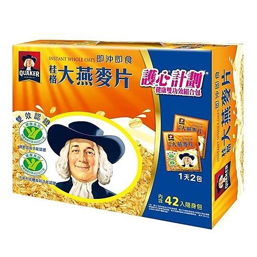 桂格即食大燕麥片隨身包37.5公克 42包入