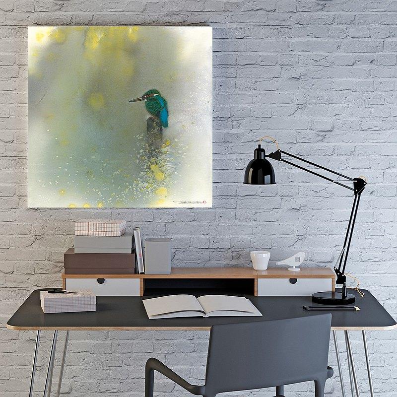 傾聽晨光 藝術裝飾畫 空間掛畫 母親節禮物 授權藝術家 SUN LIN