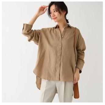 【ドレステリア/DRESSTERIOR 】 フレンチリネンビッグシャツ