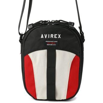 (AVIREX/アヴィレックス)UNIVERSE /ユニバース ミニショルダーバッグ/メンズ RED