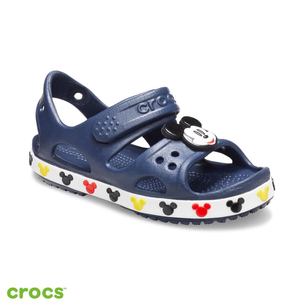 Crocs卡駱馳 (童鞋) 趣味學院迪士尼米奇小涼鞋-206171-410