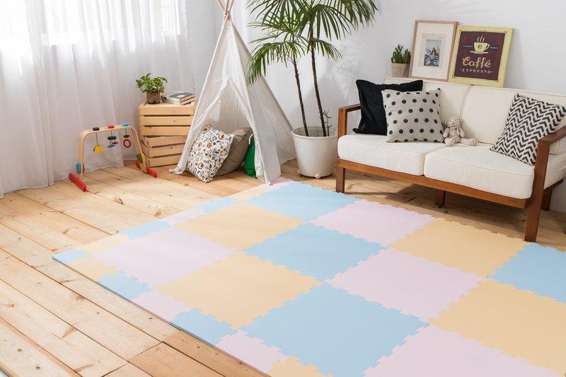 大地調色盤經典玩色款 巧拼 兒童地墊 可收邊 台灣製 歐盟認證
