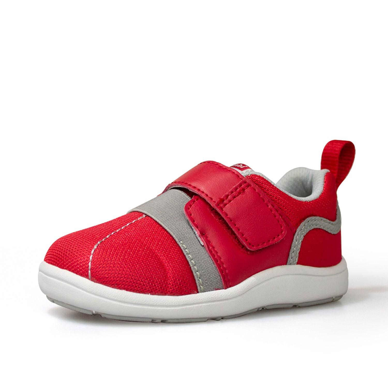 日本 Combi - 機能童鞋/學步鞋-NICEWALK 醫學級成長機能鞋-紅-A01