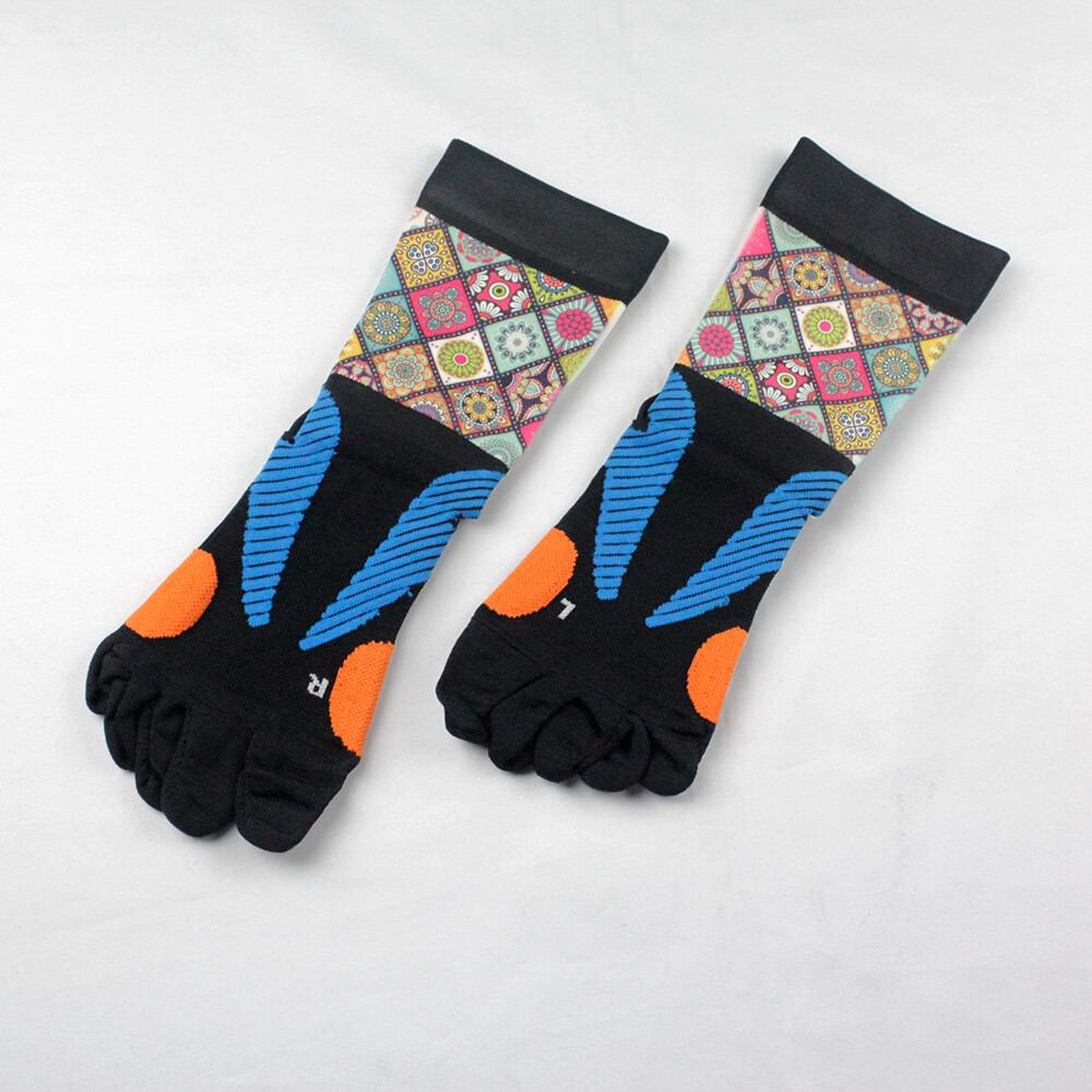 magic美肌刻 拖5趾止滑襪 五趾止滑運動襪 幾何 jg-00420y02m22