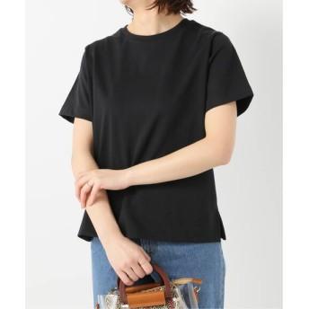JOINT WORKS GIZA COTTON BOX TEE◆ ブラック フリー
