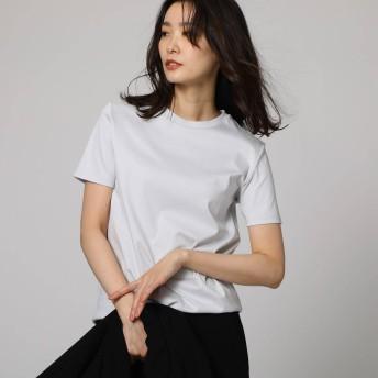 アンタイトル UNTITLED [L]【洗える・UVカット・接触冷感・抗菌防臭】クリーンフィールTシャツ (ライトグレー)