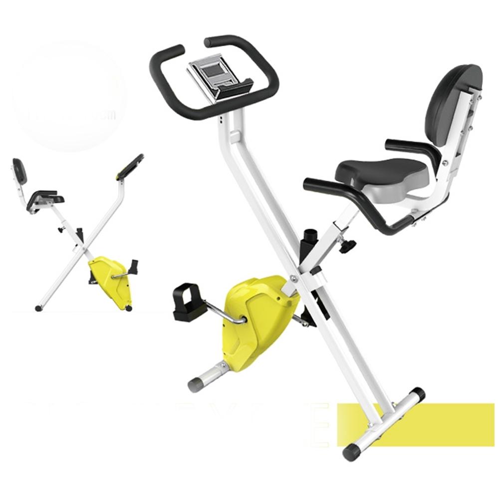健身大師 新一代雕塑者超阻力型X型健身車 大黃蜂