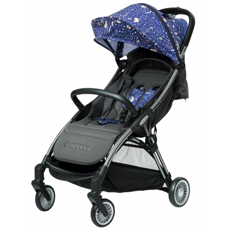 美國卡普奇Capucci - 重力全自動收合登機車-太空旅行-贈新生兒墊+專屬雨罩