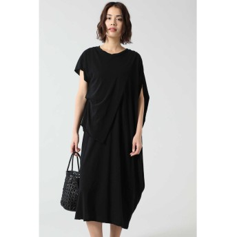 アシメトリードレス ブラック