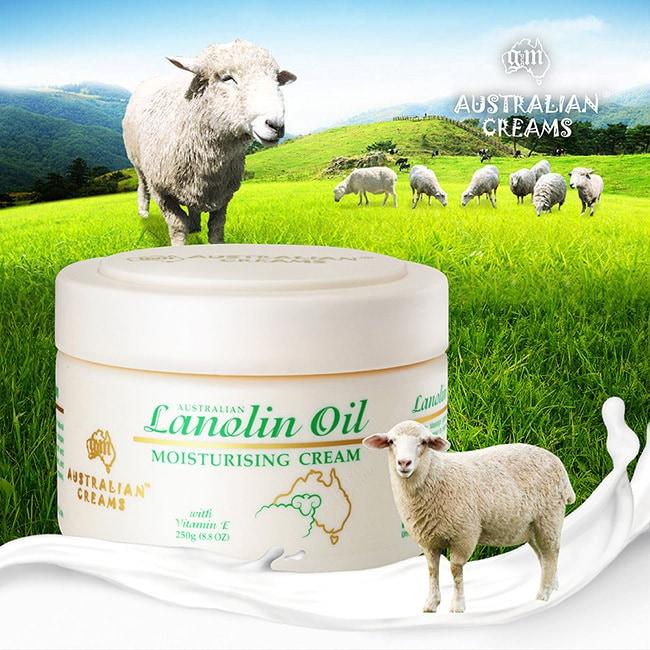 澳洲G&M滋潤綿羊霜250g
