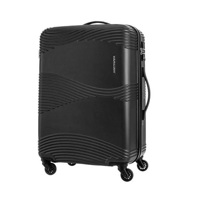 Kamiliant卡米龍 28吋Teku水波紋防刮硬殼TSA行李箱(黑)