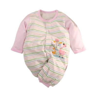 魔法Baby 台灣製薄款純棉兩用護手連身衣 b0293