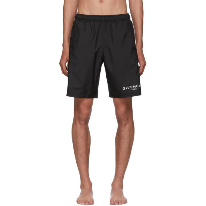 Givenchy 黑色泳裤