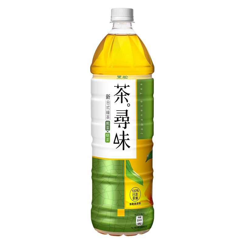 黑松茶尋味新日式綠茶-1230ml