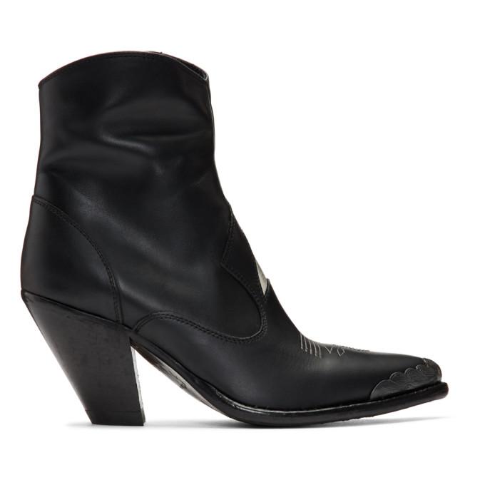 Golden Goose 黑色 Nora Star 踝靴