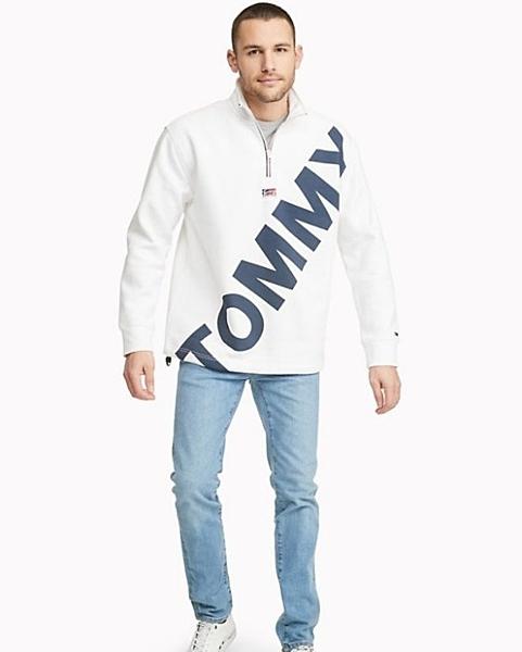美國代購 Tommy Hilfiger 棉質 長袖立領上衣 (XS~XXL) ㊣